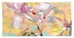 Flores De Primavera Bath Towel by Alfonso Garcia