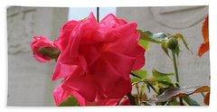 Flower Hand Towel