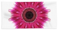 Flower Mandala  Bath Towel