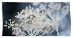 Bath Towel featuring the photograph Flowering Dill Clusters by Elena Elisseeva