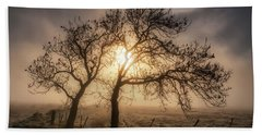 Hand Towel featuring the photograph Foggy Morning by Jeremy Lavender Photography