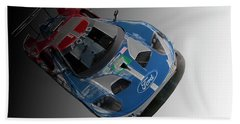 Ford Gt Bath Towel by Roger Lighterness