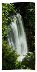 Forest Waterfall Bath Towel