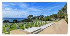 Fort Rosecrans National Cemetery Hand Towel