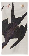 Frigate Pelican Hand Towel by John James Audubon