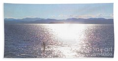 From The Sea Hand Towel by Felipe Adan Lerma