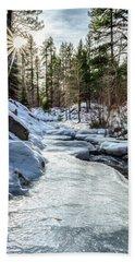 Frozen Creek Bath Towel