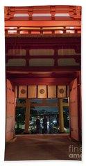 Fushimi Inari Taisha, Kyoto Japan Bath Towel