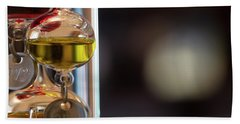 Bath Towel featuring the photograph Galileo Thermometer by Jeremy Lavender Photography