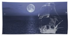 Ghost Ship Hand Towel