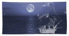 Ghost Ship Bath Towel