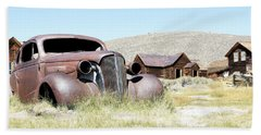 Hand Towel featuring the photograph Ghost Town Cruiser by Steve McKinzie