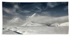 Glencoe Winter Landscape Bath Towel