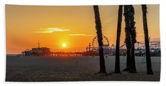 Golden Glow At Sunset Bath Towel