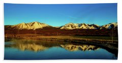 Good Morning Colorado Hand Towel by L O C