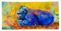 Gorilla Gorilla Hand Towel
