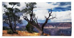 Hand Towel featuring the photograph Grand Canyon by James Bethanis