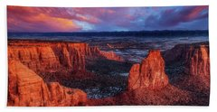 Colorado National Monument Hand Towels