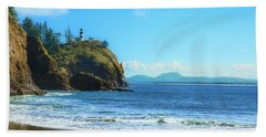 Great View Bath Towel by Robert Bales