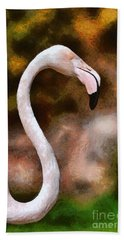 Greater Flamingo Bath Towel