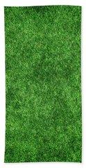 Green Grass Bath Towel