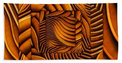 Groovy Bath Towel by Ron Bissett