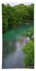 Guadeloupe River Hand Towel by Kelly Wade
