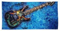 Guitar Love Hand Towel