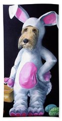 Gunther's Easter Parade Bath Towel by Diane Daigle