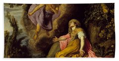 Hagar And The Angel Hand Towel