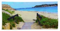 Hamelin Bay Hand Towel by Cassandra Buckley