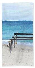 Hamelin Bay I Hand Towel by Cassandra Buckley