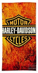 Harley-davidson Bath Towel