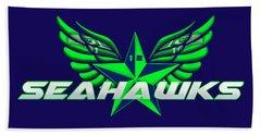 Hawks Wings Bath Towel