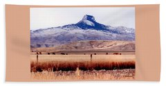 Heart Mountain - Cody,  Wyoming Hand Towel