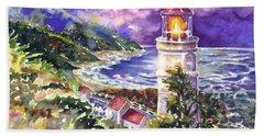 Heceta Head Lighthouse Bath Towel