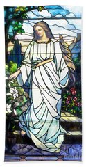 Hand Towel featuring the photograph Holy Angel by The Art of Alice Terrill