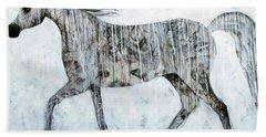 Horse Paint Hand Towel