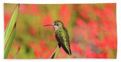 Hummingbird #5 Hand Towel