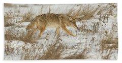 Hunting Hand Towel by Scott Warner