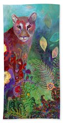 I Am The Forest Path Hand Towel