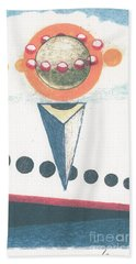 Bath Towel featuring the drawing Idea Ismay by Rod Ismay