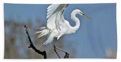 I'll Fly Away Hand Towel by Carol Bradley