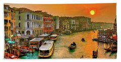 Imbarcando. Venezia Hand Towel