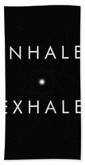 Inhale Exhale Hand Towel