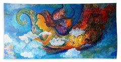 Inner Dream Hand Towel by Sanjay Punekar