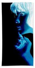 Inverted Realities - Blue  Hand Towel
