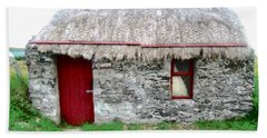 Irish Cottage Hand Towel by Stephanie Moore