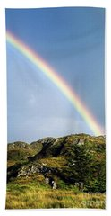 Irish Rainbow Hand Towel