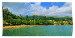 Island Of Maui Bath Towel